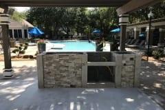 Frisco Outdoor Kitchen Build