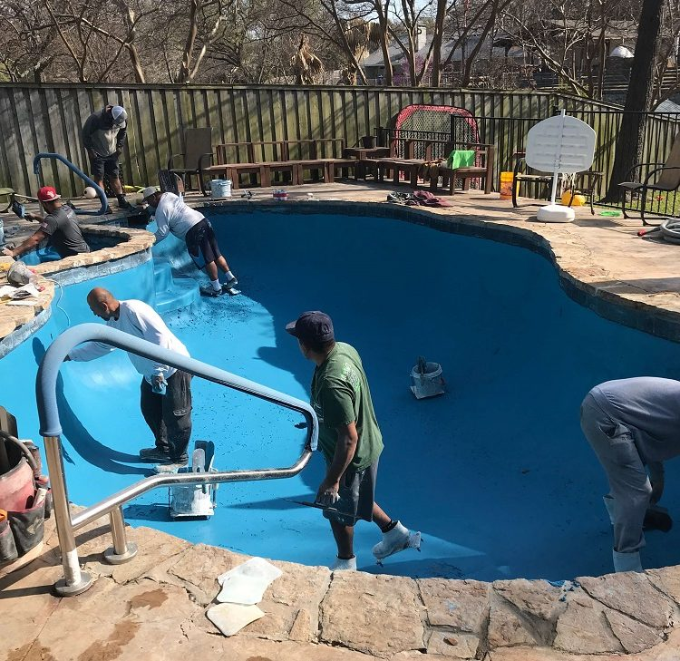 Swimming Pool Resurfacing Dallas Tx Liquidus Pool Services