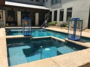 Beautiful custom pool