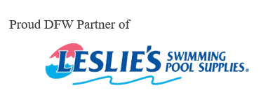 Proud DFW Partner of Leslie's Swimming Pool Supplies logo