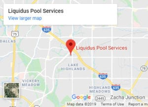 Google Map for Liquidus Pool Services