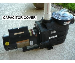 Capacitor Cover Diagram